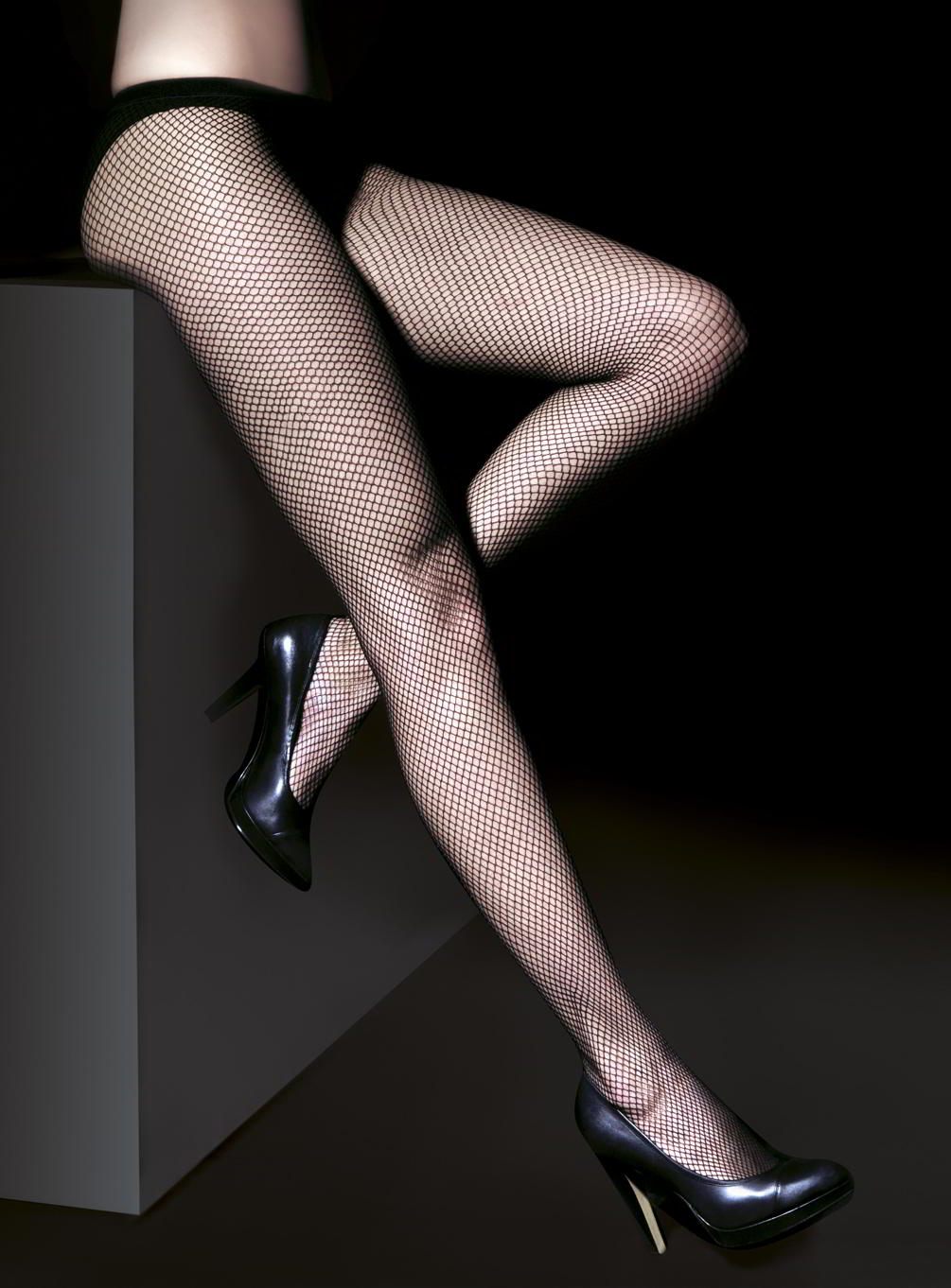 Premier Low Waist Fishnet File - Penti